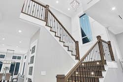 21-stairs-to-upper-level at 15804 Tulip Drive, King George Corridor, South Surrey White Rock
