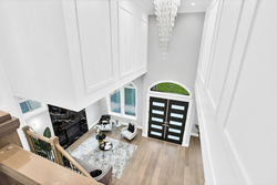 22-upper-level-landing-to-lower-level at 15804 Tulip Drive, King George Corridor, South Surrey White Rock