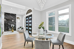 3-dining-room-to-foyer at 15804 Tulip Drive, King George Corridor, South Surrey White Rock