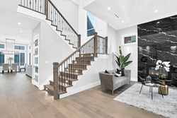 5-foyer-to-staircase at 15804 Tulip Drive, King George Corridor, South Surrey White Rock