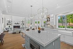 10-kitchen-island-chandeliers at 13859 Blackburn Avenue, White Rock, South Surrey White Rock