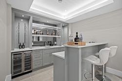 28-lower-level-wet-bar at 13859 Blackburn Avenue, White Rock, South Surrey White Rock