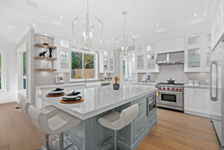 7-kitchen-island at 13859 Blackburn Avenue, White Rock, South Surrey White Rock