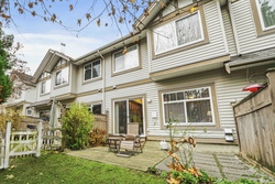 5-outdoor-patio-next-to-kitchen at 15 - 2678 King George Boulevard, King George Corridor, South Surrey White Rock