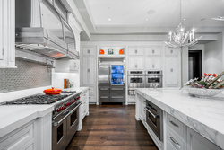 13-chefs-kitchen-with-wolf-appliances at 13283 56 Avenue, Panorama Ridge, Surrey