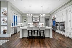 15-chefs-kitchen-with-designer-lighting at 13283 56 Avenue, Panorama Ridge, Surrey