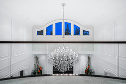 20-chandelier-on-upper at 13283 56 Avenue, Panorama Ridge, Surrey