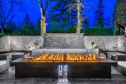 35-exterior-fire-lounge at 13283 56 Avenue, Panorama Ridge, Surrey