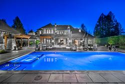 37-exterior-rear-pool-hot-tub-spa at 13283 56 Avenue, Panorama Ridge, Surrey