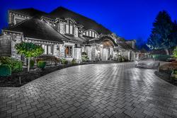 5-twilight-exterior-angle at 13283 56 Avenue, Panorama Ridge, Surrey
