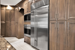 9-cabinets-and-fridge at 3087 141 Street, Elgin Chantrell, South Surrey White Rock