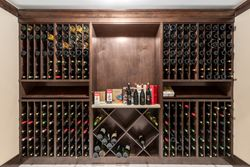 32-wine-room-display at 355 198 Street, Campbell Valley, Langley