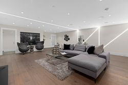 20-theatre-with-custom-lights at 14705 Oxenham Avenue, White Rock, South Surrey White Rock