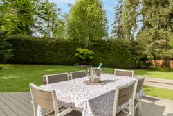 16-outdoor-dining-terrace-on-trek-deck at 13877 32 Avenue, Elgin Chantrell, South Surrey White Rock