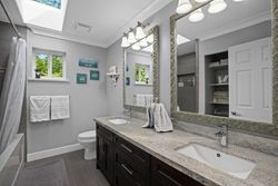 21-double-vanity-childrens-bathroom at 13877 32 Avenue, Elgin Chantrell, South Surrey White Rock