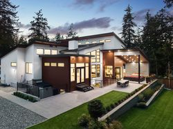 34-drone-side-angle-rear at 14358 Greencrest Drive, Elgin Chantrell, South Surrey White Rock