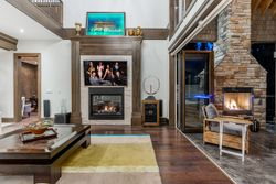 8-great-room-to-terrace at 13415 Vine Maple, Elgin Chantrell, South Surrey White Rock