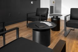 8-lobby-seating at HALVÖ By Landcraft Group, South Surrey White Rock