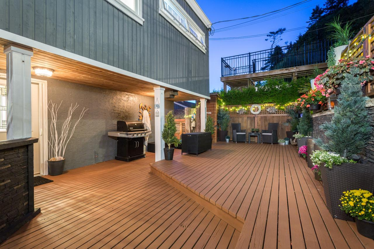 Spacious Patio at 924 Tsawwassen Beach Road, Tsawwassen