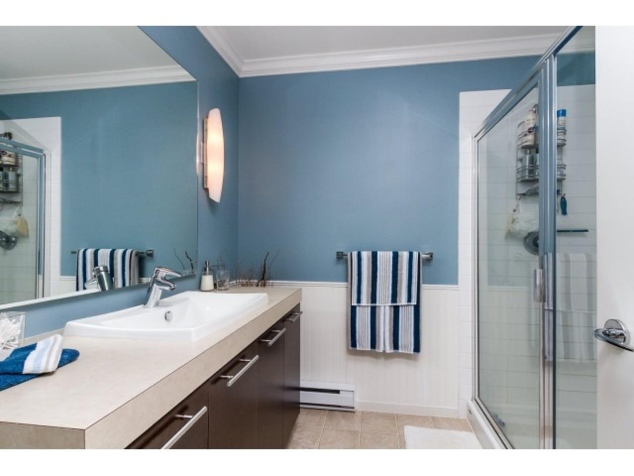 Spacious Bathroom at 18 - 7238 189 Street, Clayton, Cloverdale