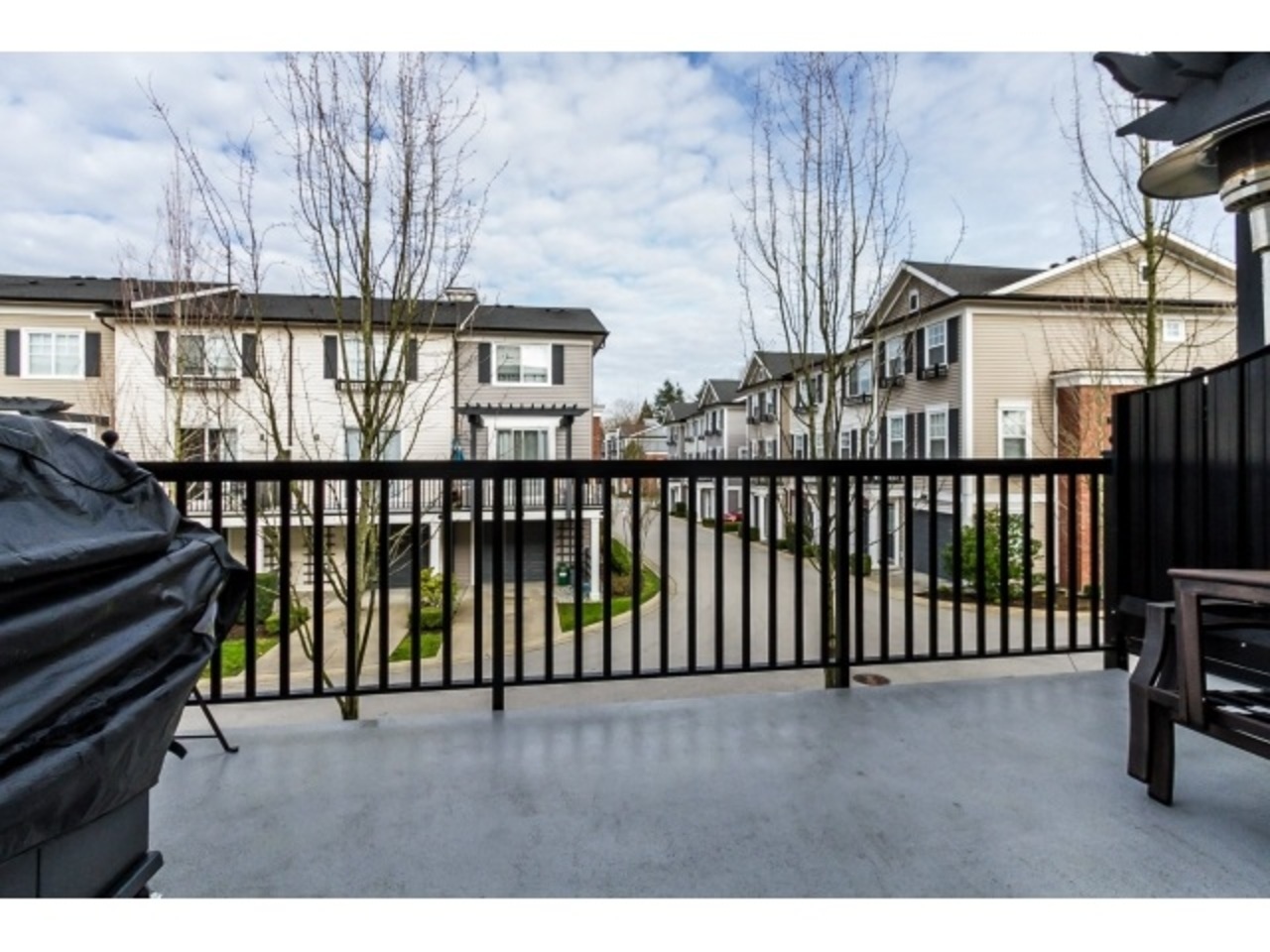 Patio at 18 - 7238 189 Street, Clayton, Cloverdale