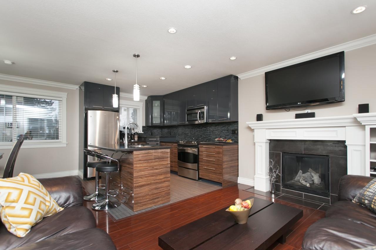 Living Area at 8812 Trattle Street, Fort Langley, Langley