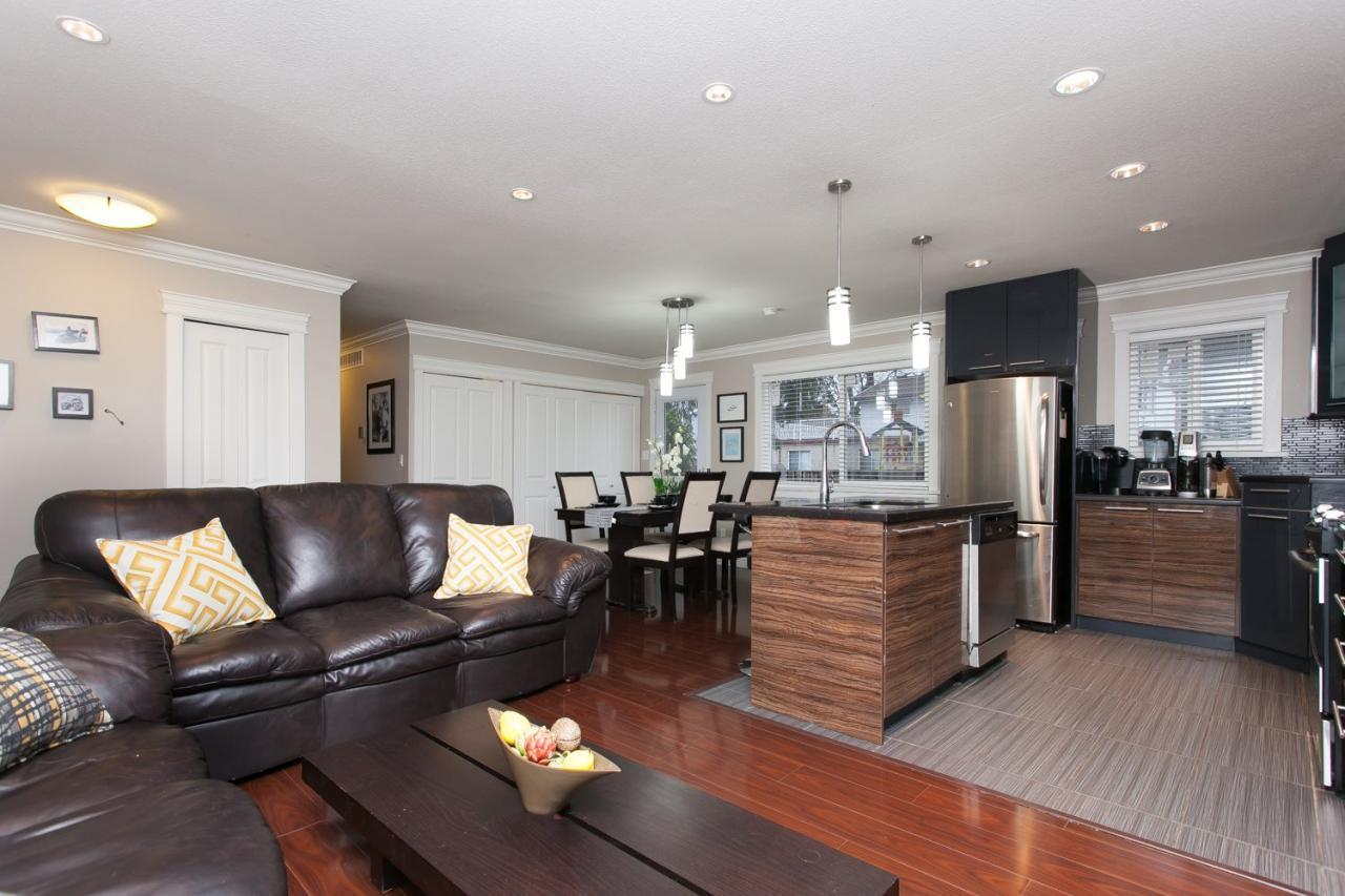 Open Concept at 8812 Trattle Street, Fort Langley, Langley