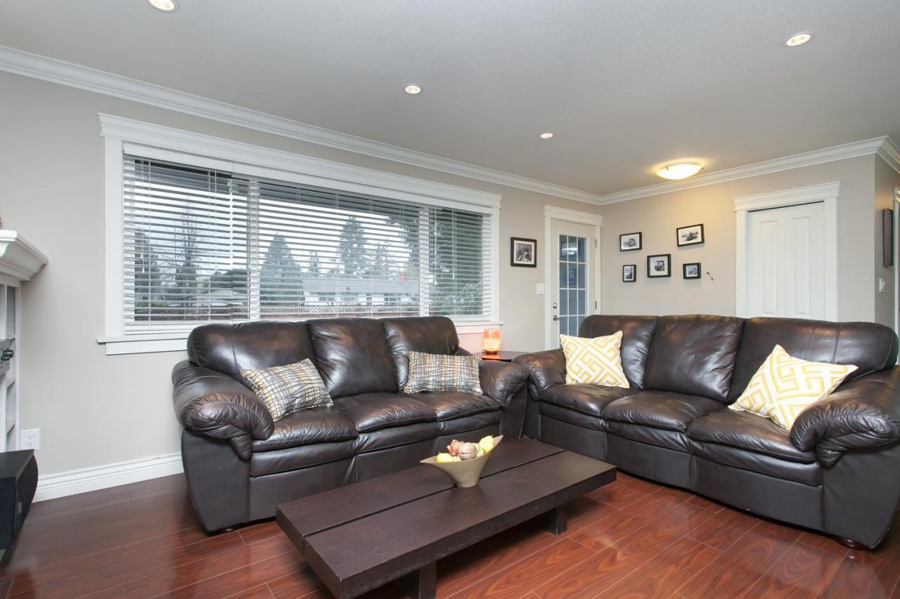 Living Room at 8812 Trattle Street, Fort Langley, Langley