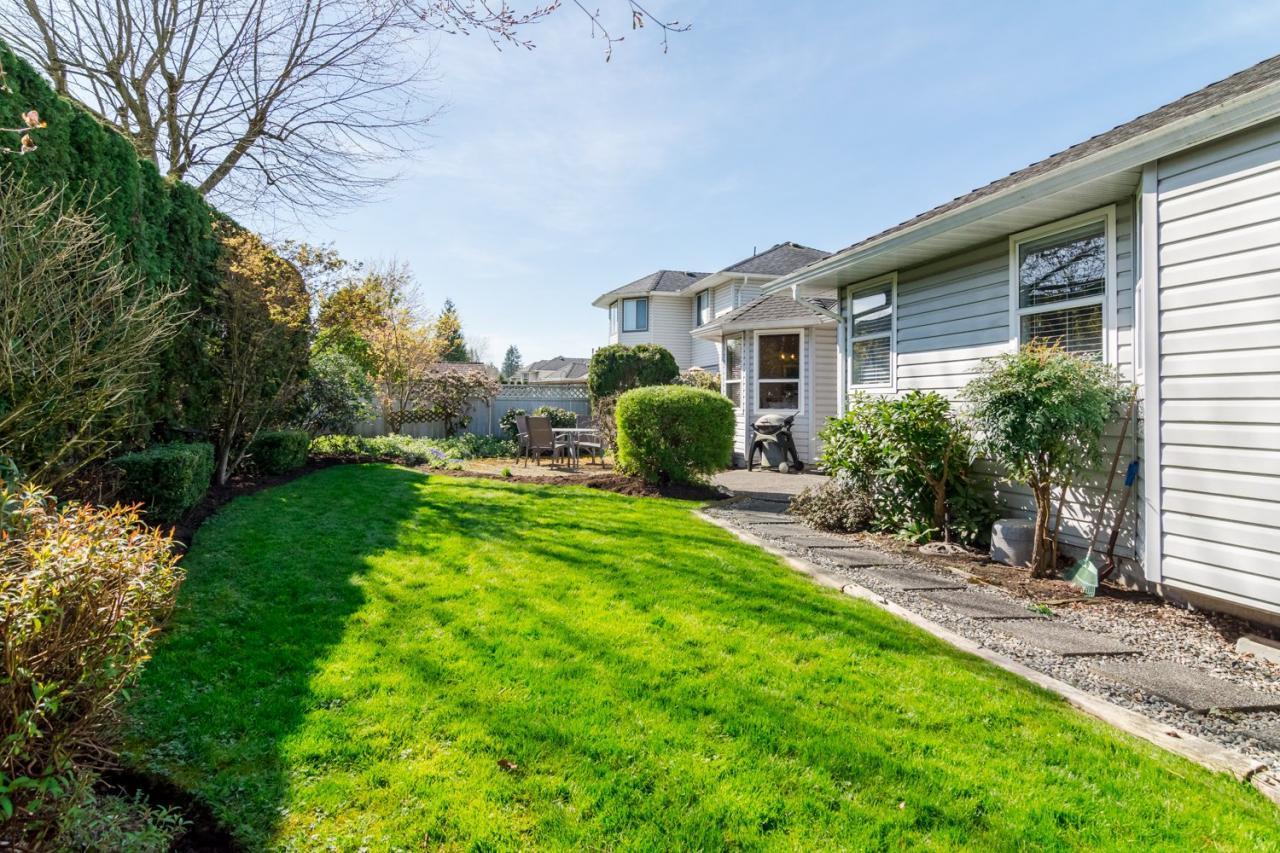 Backyard  at 9744 205a Street, Langley City, Langley