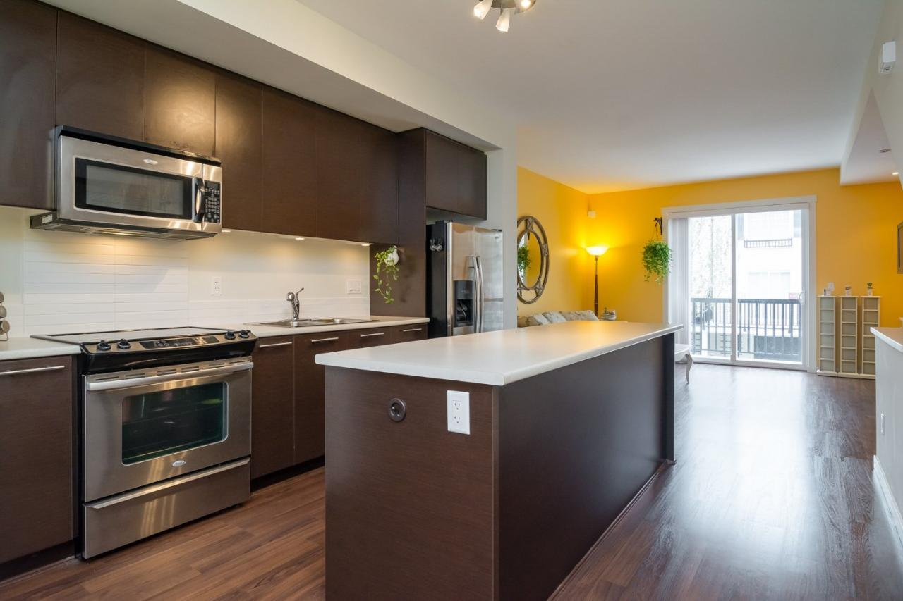Stainless appliances at 19 - 7238 189 Street, Clayton, Cloverdale