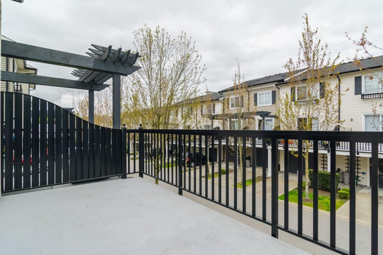 Spacious Patio 1 at 19 - 7238 189 Street, Clayton, Cloverdale