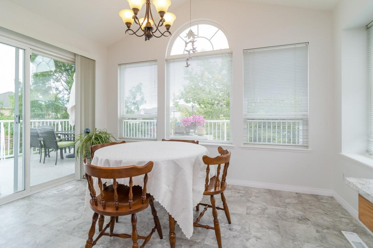 Dining Area at 6375 187a Street, Cloverdale