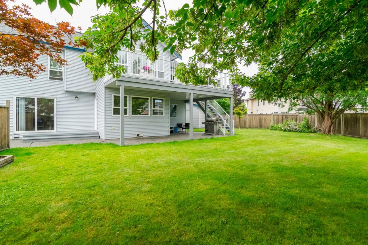 Backyard 3 at 6375 187a Street, Cloverdale