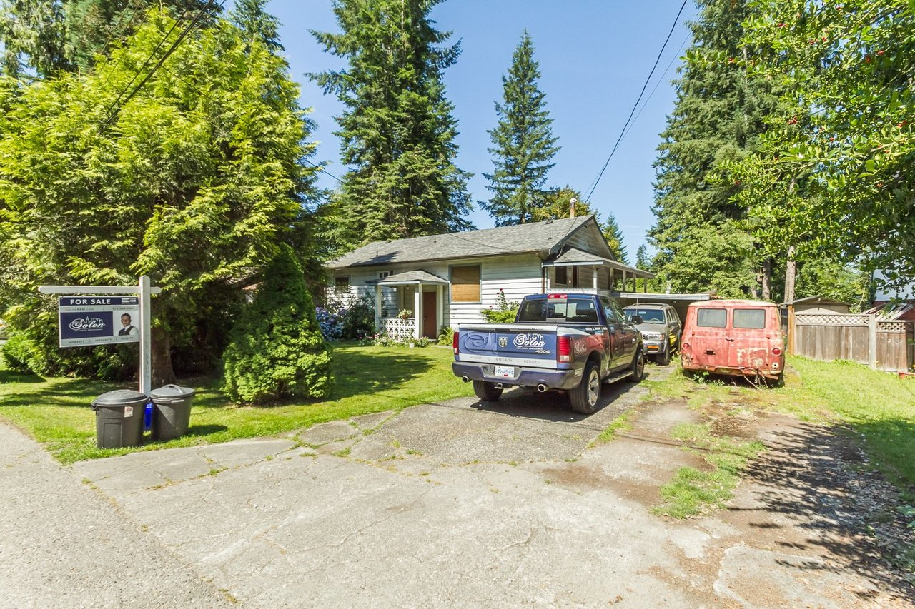 Driveway at 9159 Edal Street, Fort Langley, Langley