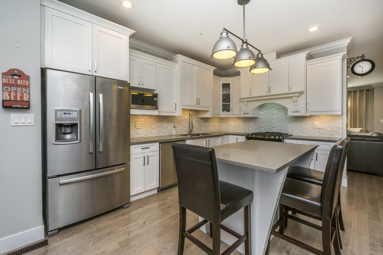 Kitchen  at 21149 77b Avenue, Willoughby Heights, Langley