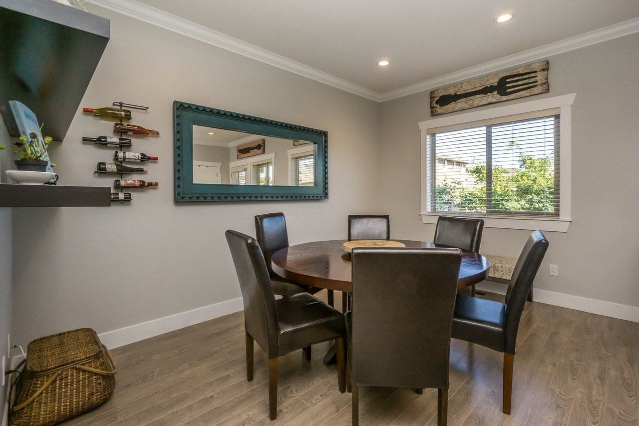 Dining Room at 21149 77b Avenue, Willoughby Heights, Langley