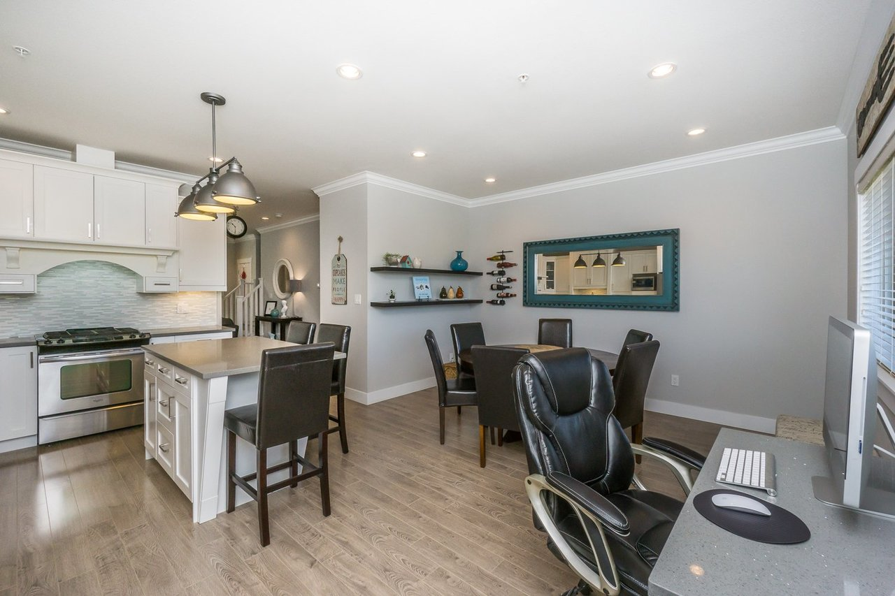Home Office at 21149 77b Avenue, Willoughby Heights, Langley