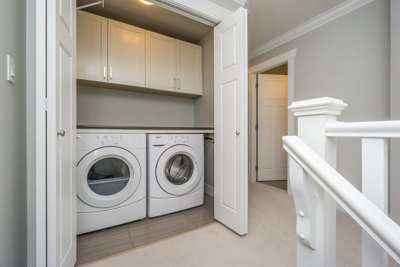 Laundry Closet at 21149 77b Avenue, Willoughby Heights, Langley