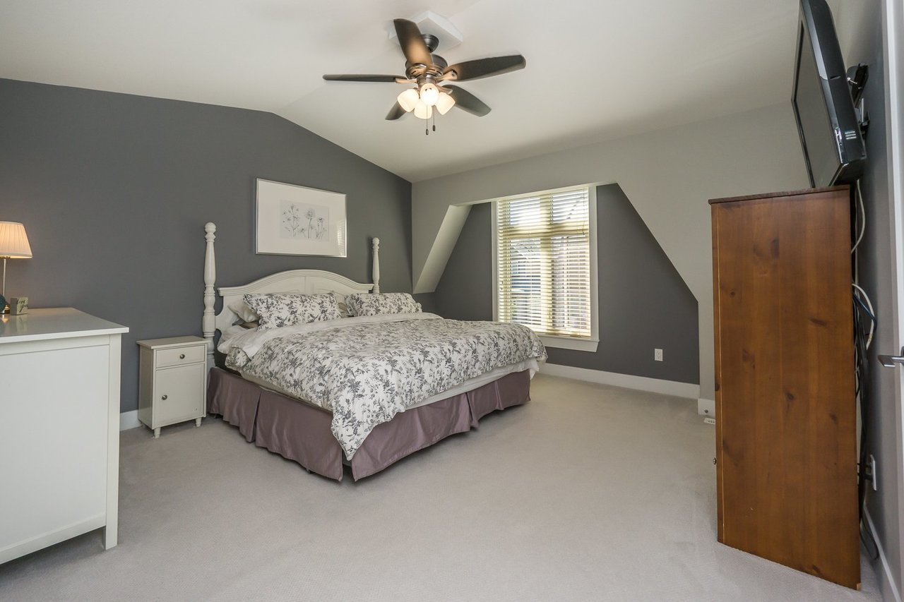Master Bedroom at 21149 77b Avenue, Willoughby Heights, Langley