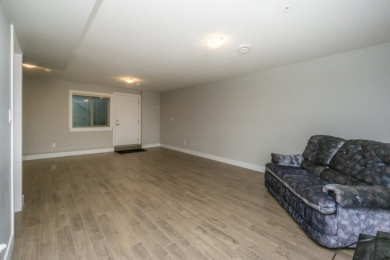 Rec Room at 21149 77b Avenue, Willoughby Heights, Langley