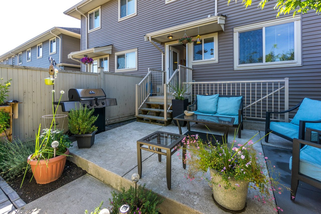 Patio 2 at 21149 77b Avenue, Willoughby Heights, Langley