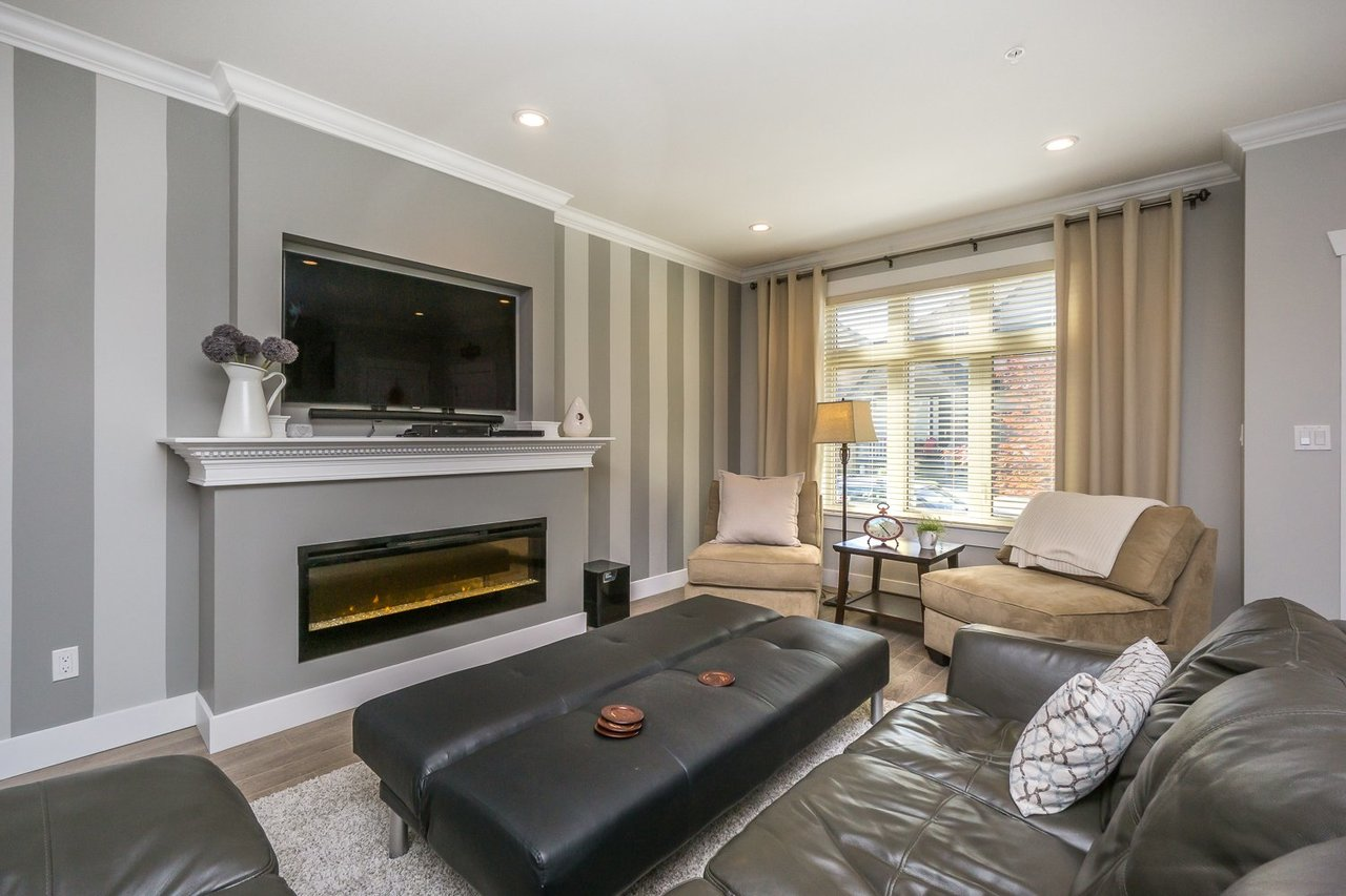 Living Room at 21149 77b Avenue, Willoughby Heights, Langley