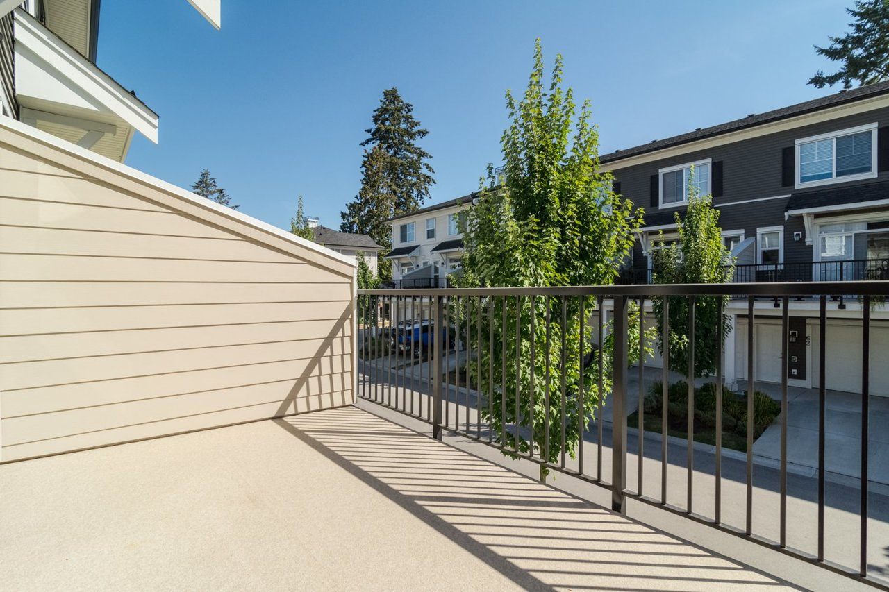 Deck at 67 - 2469 164th Street, Surrey