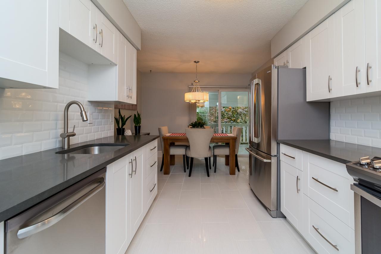 Galley Kitchen at 6358 193b Street, Surrey