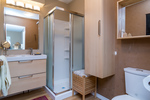 Stand up shower  -Listed by Solon REM, Top Langley & Fraser Valley Realtor  at 26741 58th Avenue, Langley