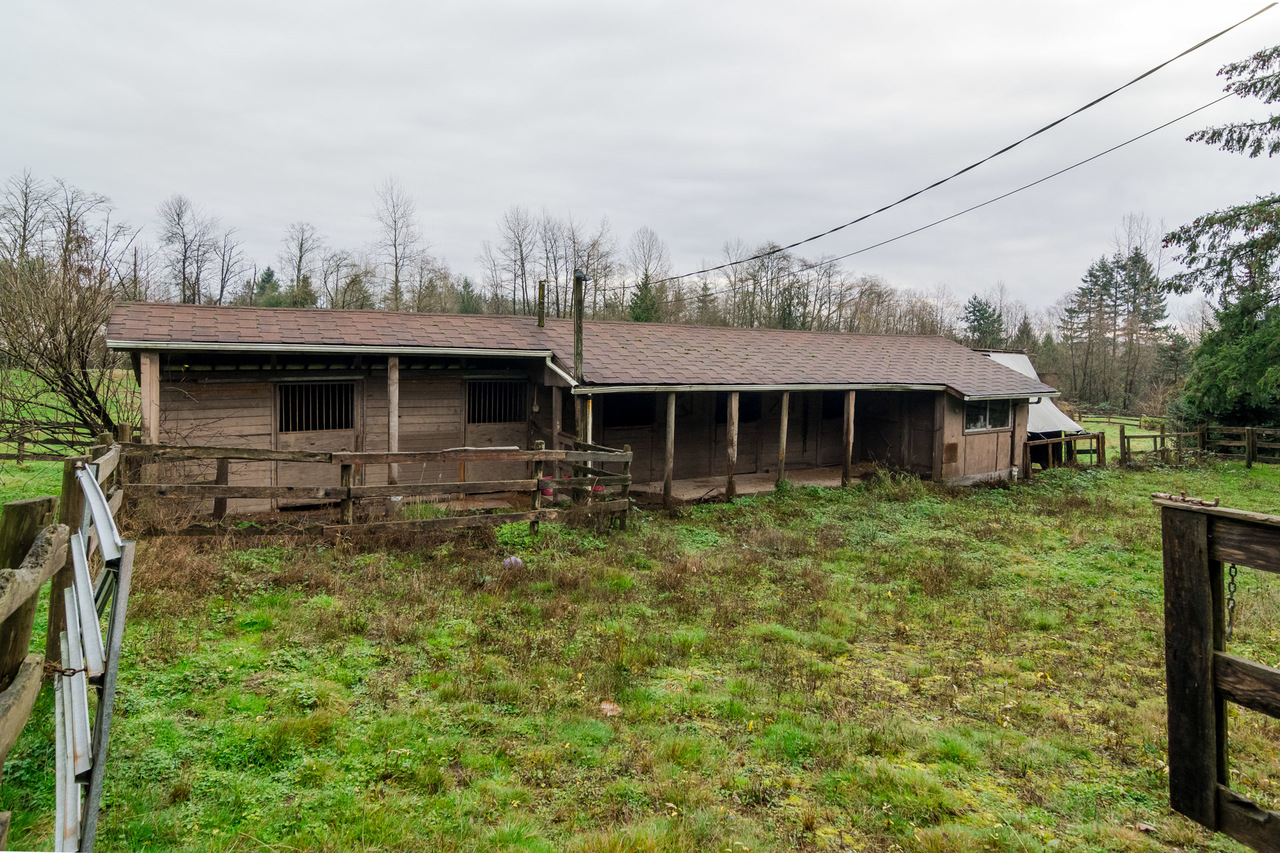 Barn - Listed by Solon REM, Top Langley & Fraser Valley Realtor  at 26741 58th Avenue, Langley