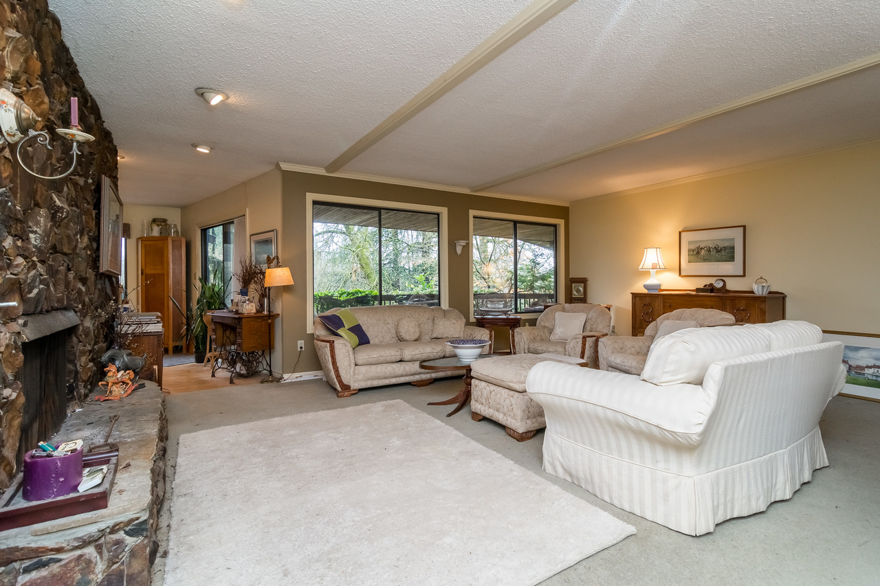 Living Room-Listed by Solon REM, Top Langley & Fraser Valley Realtor  at 26741 58th Avenue, Langley