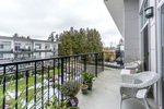 Courtyard view -Listed by Solon REM, Top Langley & Fraser Valley Realtor  at 425 - 12039 64, West Newton, Surrey