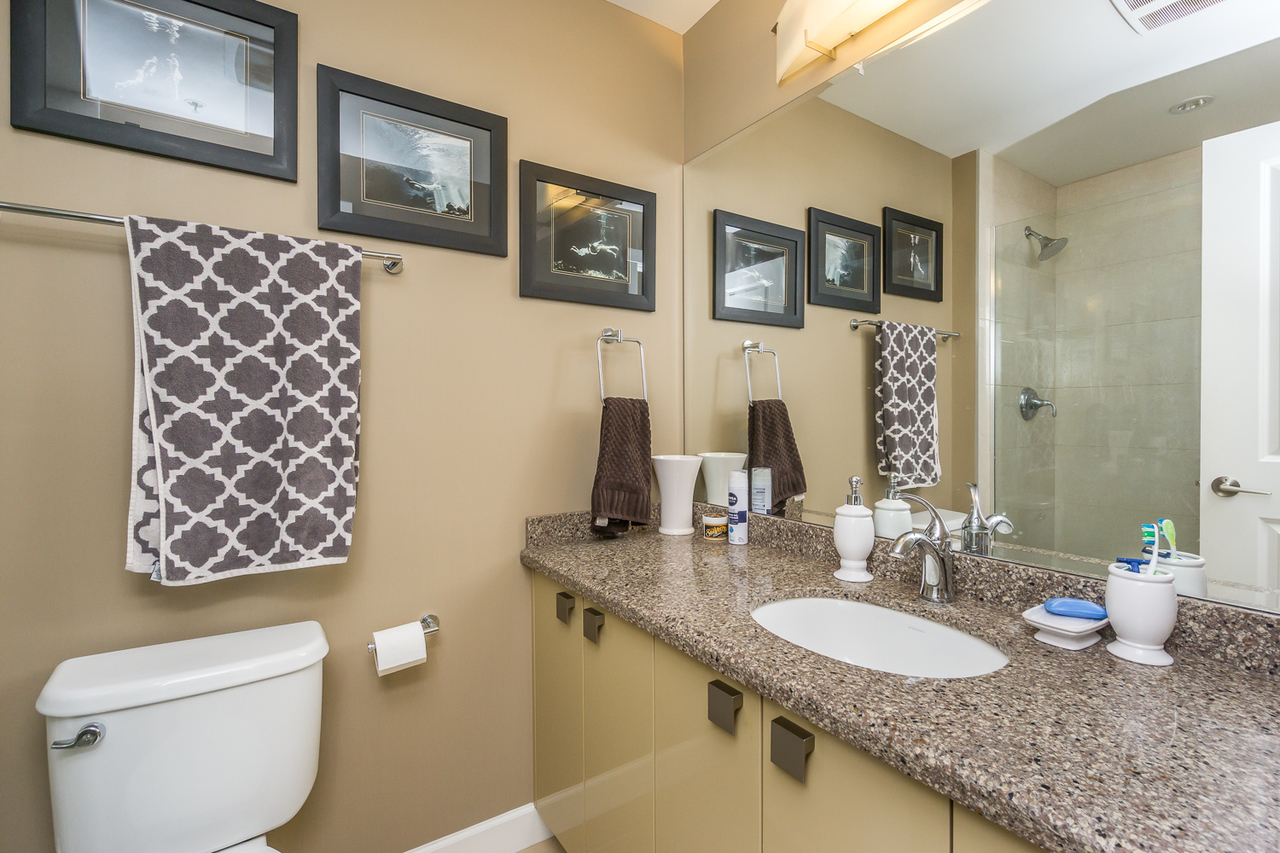 Master Bath -Listed by Solon REM, Top Langley & Fraser Valley Realtor  at 425 - 12039 64, West Newton, Surrey