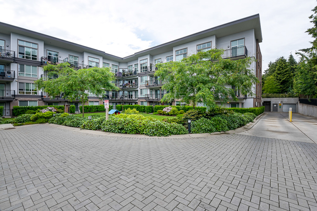 Courtyard -Listed by Solon REM, Top Langley & Fraser Valley Realtor  at 425 - 12039 64, West Newton, Surrey